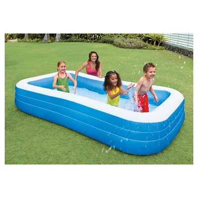 intex 120 x 72 x 22 swim center family inflatable pool target rh target com backyard inflatable pool ideas backyard inflatable swimming pool