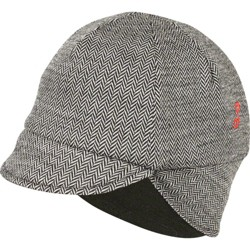 Pace Sportswear Reversible Merino Wool Cap: Mini Herringbone