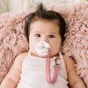 Itzy Ritzy Sweetie Strap Pacifier Clip - Pink - image 2 of 4