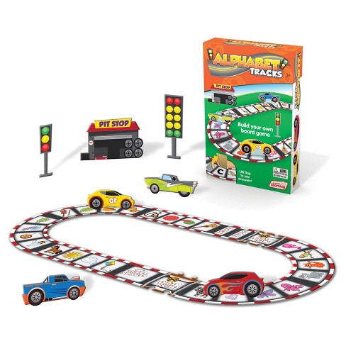 Junior Learning® Build Your Own Board Game - Alphabet Tracks - image 1 of 2