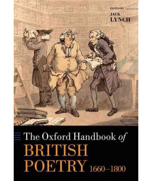 Oxford Handbook of British Poetry, 1660-1800 (Hardcover) - image 1 of 1