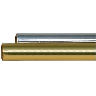 Hygloss Colored Metallic Foil Roll, 26 Inch x 25 Feet, Gold