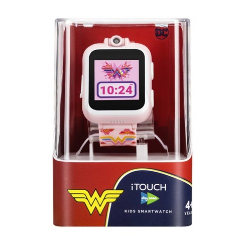 iTouch PlayZoom DC Comics: Blush Wonder Woman Symbol - image 1 of 4