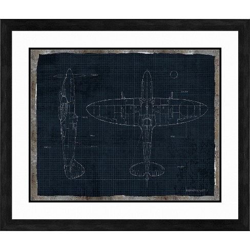 Fighter Plane Wall Art - image 1 of 2