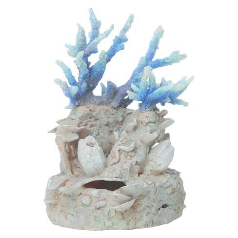 Biorb Coral Reef Ornament Aquarium Artificial Plants Blue