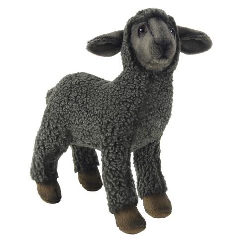 Hansa Kid Sheep Plush Toy Black Target