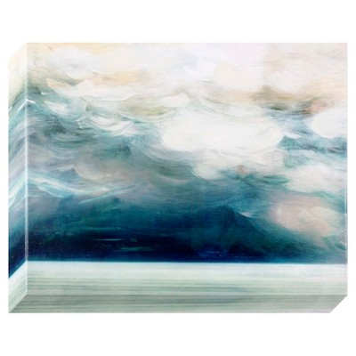 Abstract Blues Decorative Wall Canvas 22 X 28 - Project 62™