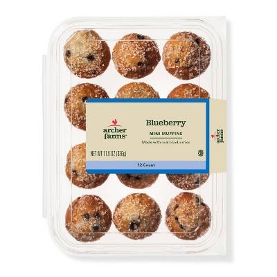 Blueberry Mini Muffins - 12ct - Archer Farms™