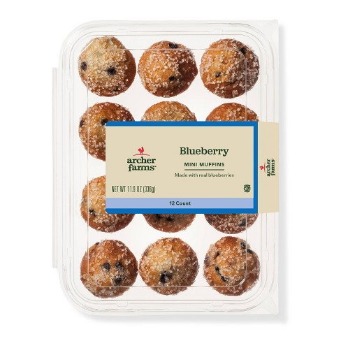 Blueberry Mini Muffins - 12ct - Archer Farms™ - image 1 of 1