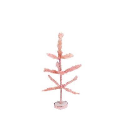 "Northlight 19"" Unlit Artificial Easter Tree Pastel Pink Sisal Pine"