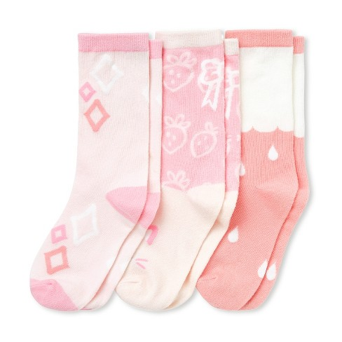 Cubcoats Kids 3-Pack of Kali the Kitty Premium Socks - image 1 of 4
