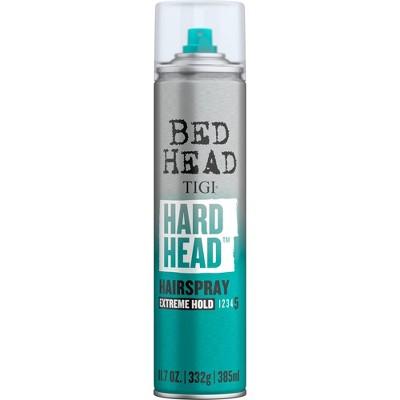 TIGI Bed Head Hard Head Extreme Hold Hair Spray Aerosol - 11.7oz