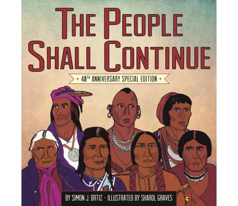 People Shall Continue (Paperback) (Simon J. Ortiz) - image 1 of 1