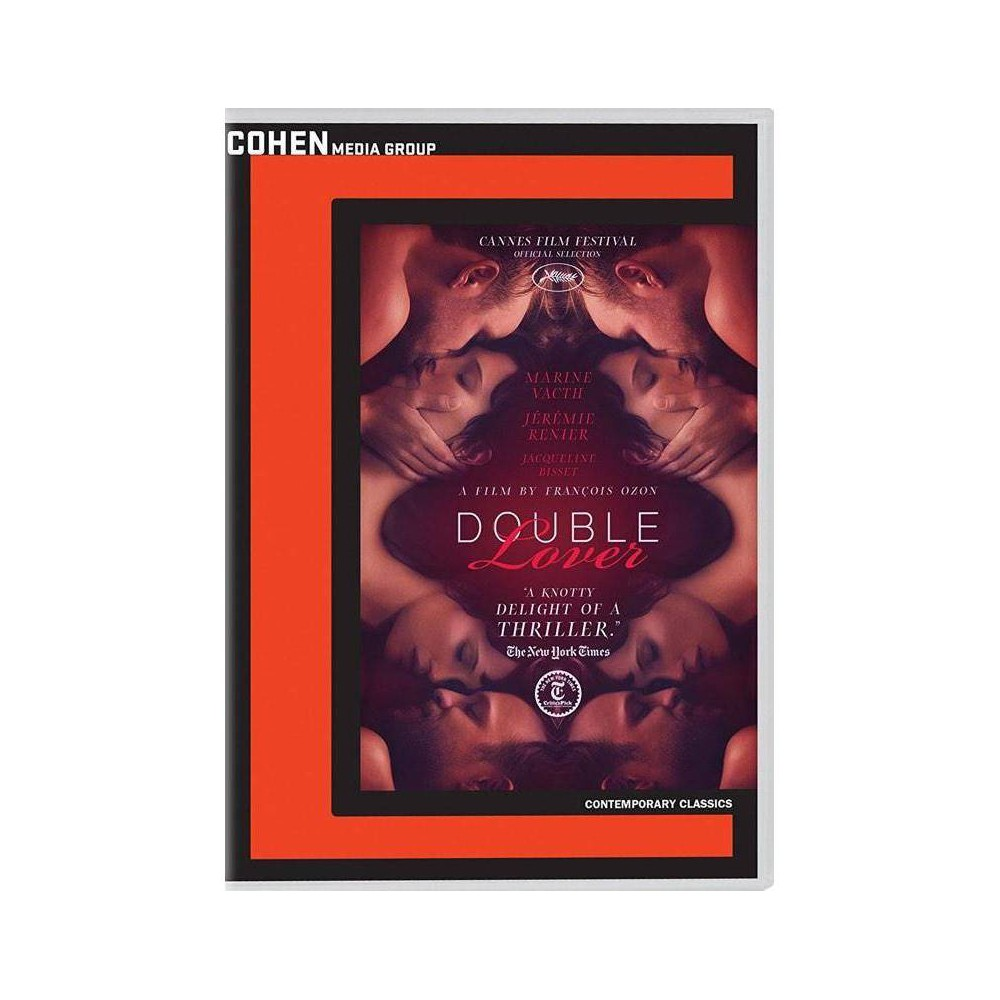 Double Lover (Dvd), Movies Crafting a deliriously cinematic web of suspense, shock, eroticism, and power dynamics, writer/director François Ozon (Swimming Pool) returns to master the thriller genre with Double Lover. In the new film, Ozon reunites with two actors whom he previously directed in breakout roles, Marine Vacth (Young and Beautiful) and Jérémie Renier (Criminal Lovers), now helming them in an intense exploration of a woman venturing into dangerous romance. Chloé, who works as a guard at a museum in Paris, seeks to shore up her resiliency and enters psychoanalysis. In Paul Meyer, the sensitive patient finds a caring psychiatrist who helps her overcome bouts with depression. Following the end of the treatment, both realize that they have fallen in love. A new chapter begins for Chloé when she and Paul move in together...yet Chloé soon comes to believe that Paul is keeping a secret. She impulsively visits another psychiatrist, Louis Delord. Spiraling emotional and sexual stakes will push all three of them to extremes, forcing Chloé to take action in order to solve a mystery and save herself.