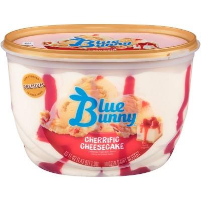 Blue Bunny Frozen Cherrific Cheesecake - 46 fl oz
