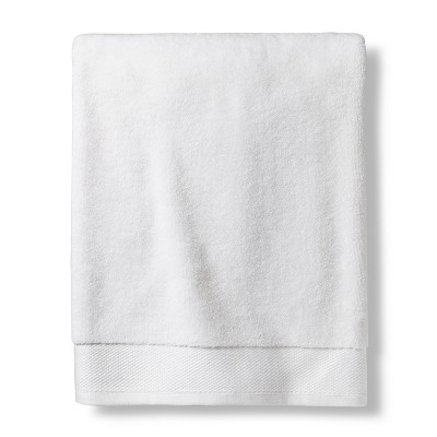Bath Sheet Reserve Solid Bath Towels And Washcloths True White - Fieldcrest®