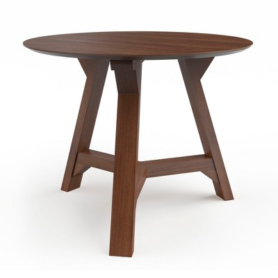 Aubrey Side Table with Wood Table Top - Aeon