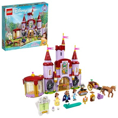 LEGO Disney Belle and the Beast's Castle 43196 Building Kit