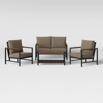 Oak Park 4pc Patio Conversation Set - Project 62™