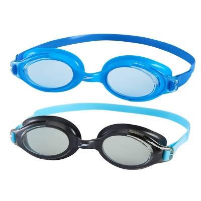 Speedo Junior Seaspray Goggle 2pk - Blue/Black