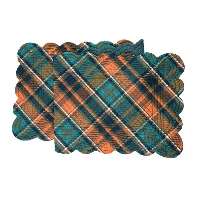 """C&F Home 14"""" x 51"""" Troy Plaid Table Runner"""