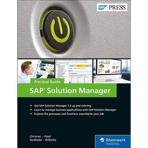 SAP Solution Manager--Practical Guide - (Hardcover) - image 1 of 1