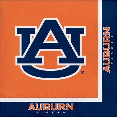 20ct Auburn Tigers Napkins