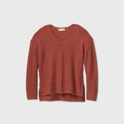 Women's V-Neck Pullover Sweater - Knox Rose™