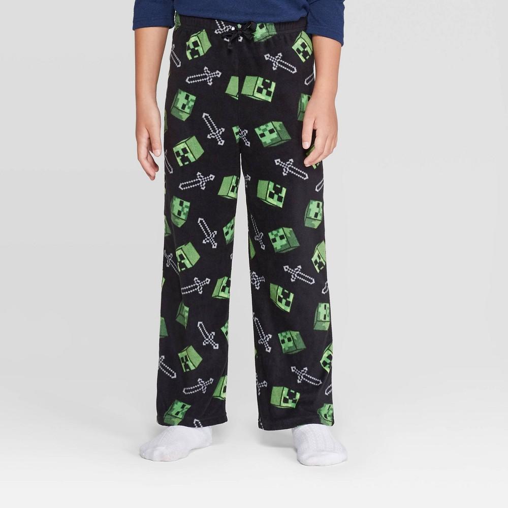 Image of Boys' Minecraft Pajama Pants - Green 10, Boy's
