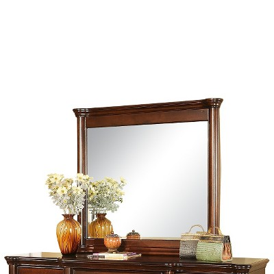 Dylan Mirror Dark Cherry - Picket House Furnishings