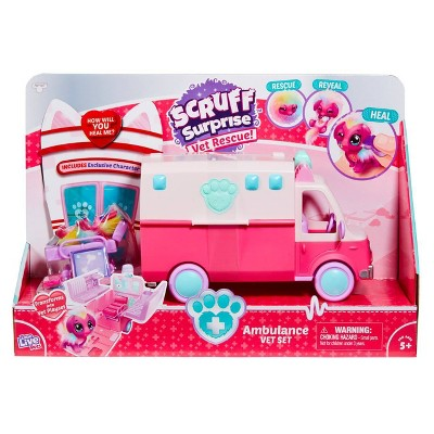Little Live Pets Scruff Surprise - Ambulance Playset