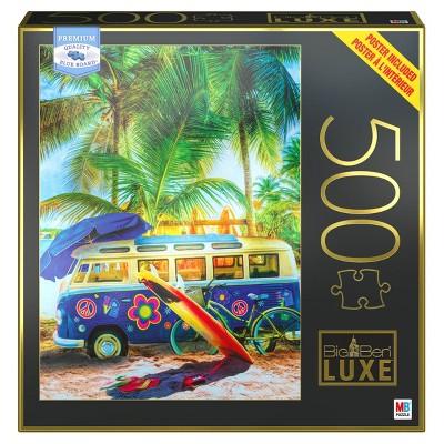 Milton Bradley Big Ben Luxe: Caribbean Island Jigsaw Puzzle - 500pc