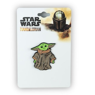 SalesOne LLC Star Wars: The Mandalorian The Child Collector Pin | Curious Baby Yoda Standing