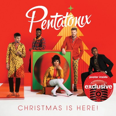 Pentatonix - Christmas Is Here (Target Exclusive, CD)