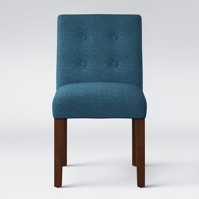 Ewing Modern Dining Chair with Buttons Navy - Project 62™