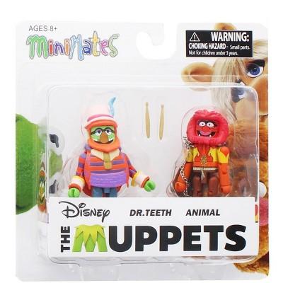 Diamond Comic Distributors, Inc. Muppets Dr. Teeth & Animal 2-Pack Series 2 Mini mates