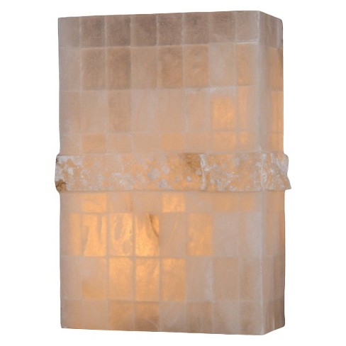 "World Wide Lighting Wall Light - Beige (11 X 16 X 7"") - image 1 of 1"