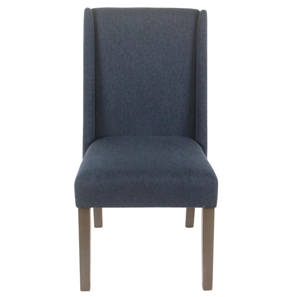(Set of 2) Dinah Modern Dining Chair Navy (Blue) - Homepop