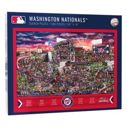 MLB Washington Nationals 500pc Find Joe Journeyman Puzzle
