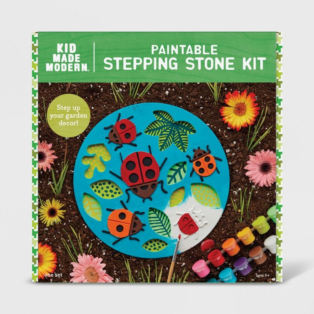 Image of Ladybug Garden Stepping Stone - Kid Made Modern, Ivory