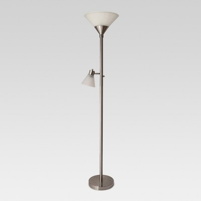 Mother Daughter Floor Lamp Brushed Nickel - Threshold™