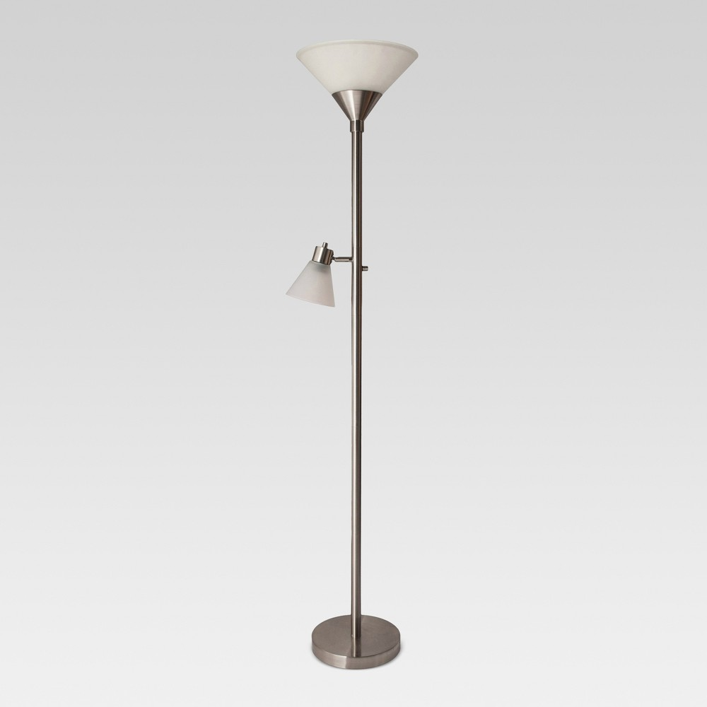 Mother Daughter Floor Lamp Brushed Nickel Lamp Only - Threshold