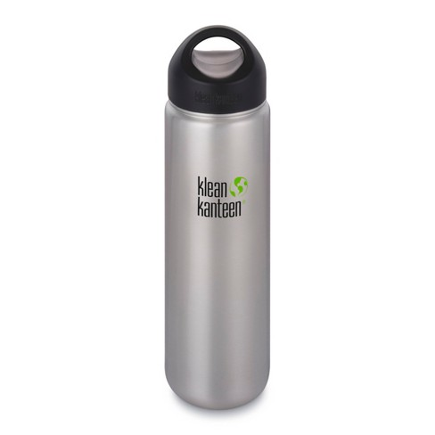 9c4b97e89d Klean Kanteen 27oz Wide Single Wall Bottle - Brushed Silver : Target