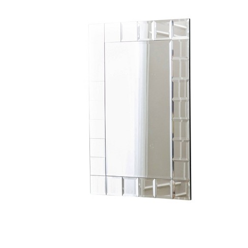 Gregor Wall Mirror Silver - Abbyson Living - image 1 of 3