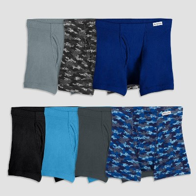 Fruit of the Loom Boys' 7pk Boxer Briefs - Colors May Vary