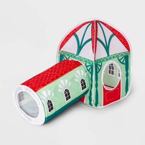 Pop Open Cat House/Tunnel - Wondershop™ - image 1 of 3