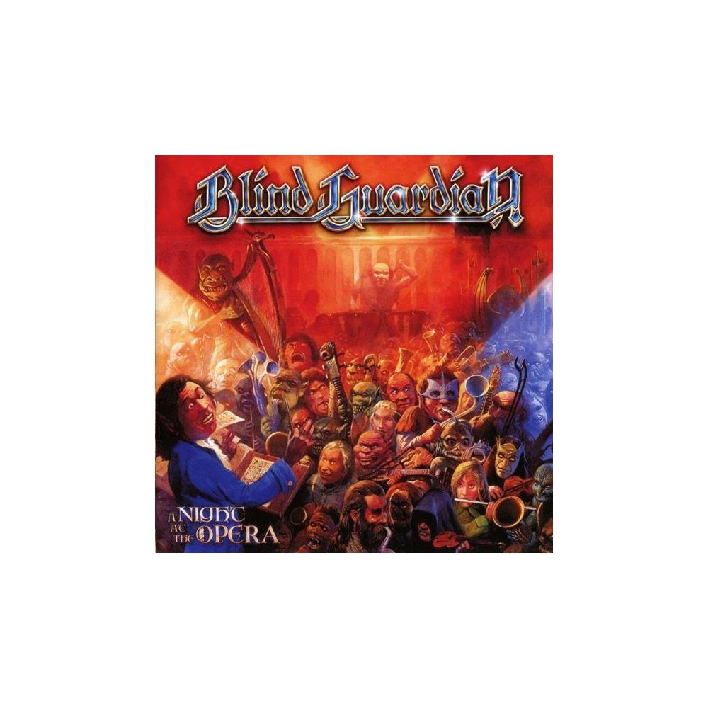 Blind Guardian Night At The Opera Remixed Remastered Cd