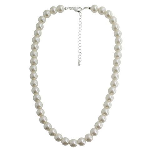 45a1495296ebc Short Pearl Necklace - 18