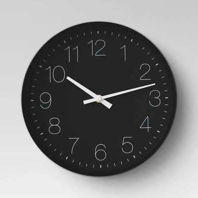 10  Round Wall Clock Black - Project 62™