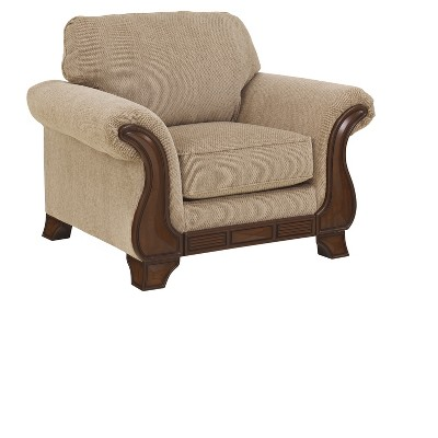 Accent Chairs Beige Nude   Signature Design By Ashley